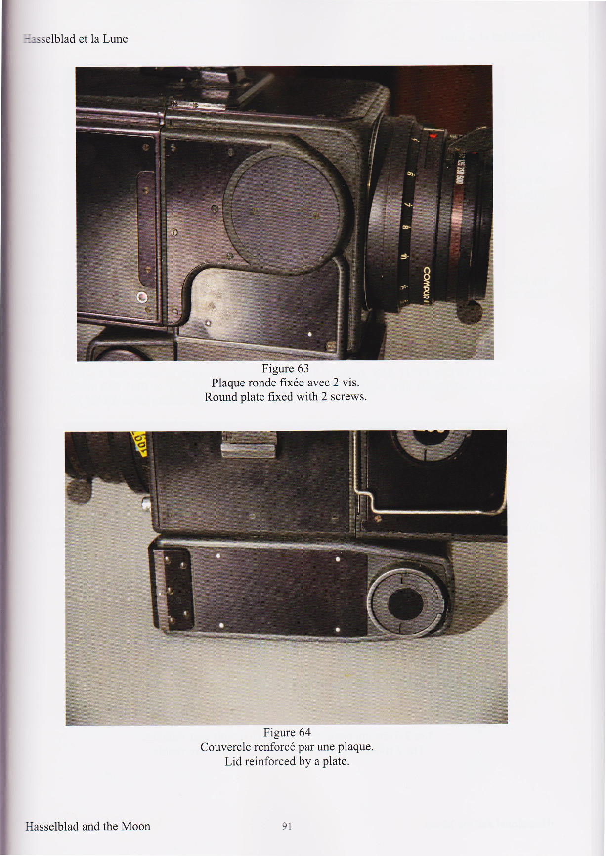 Hasselblad and the Moon - Book page 91