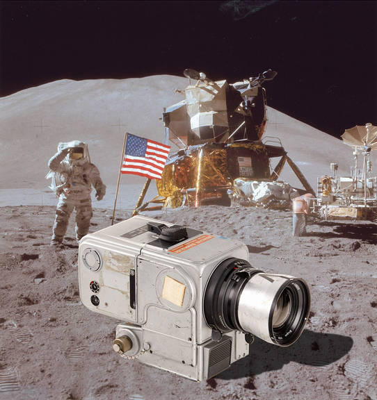 Jim Irwin's Hasselblad Moon camera